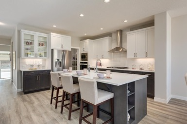 The Ashton by sterling homes kitchen