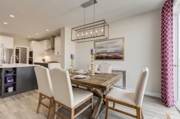 The Ashton by sterling homes Dining